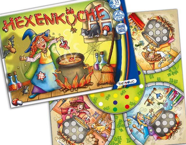 Kinderspiel Hexenküche