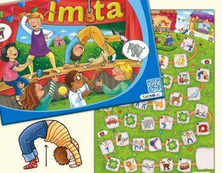 Illustration für Kinderspiel Imita